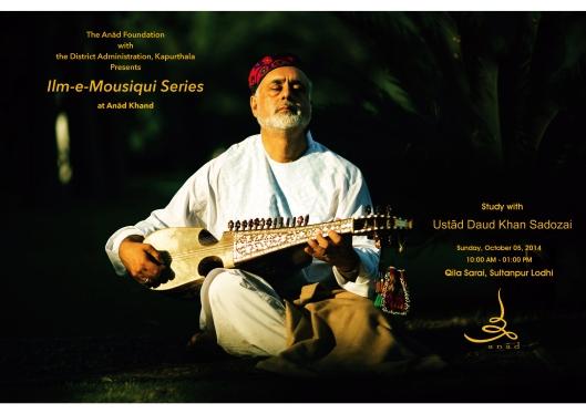 2014 10 05 Daud Khan Sadozai Workshop