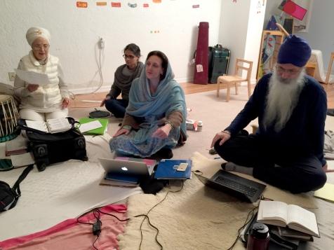Siri Sevak Kaur, Francesca Cassio and Jasdeep Gurm